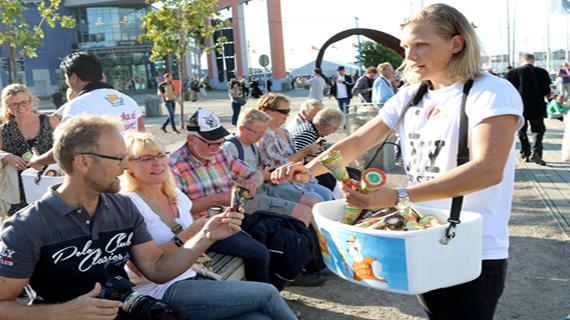 Vilken succé! Vi blickar tillbaka på Göteborgs Kulturkalas och Glassens Dag då vi gjorde Göteborg lite glassigare!
