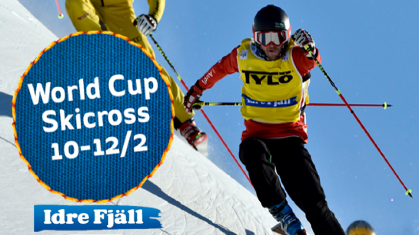 World Cup Skicross i Idre 10-12/2
