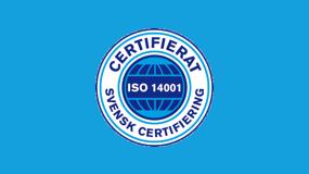 Triumf Glass är nu miljöcertifierade ISO 14001