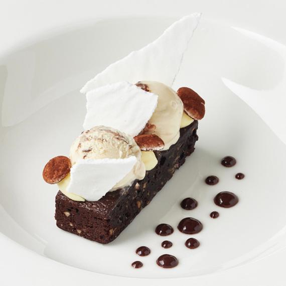 Brownie med Himmelsk Röra