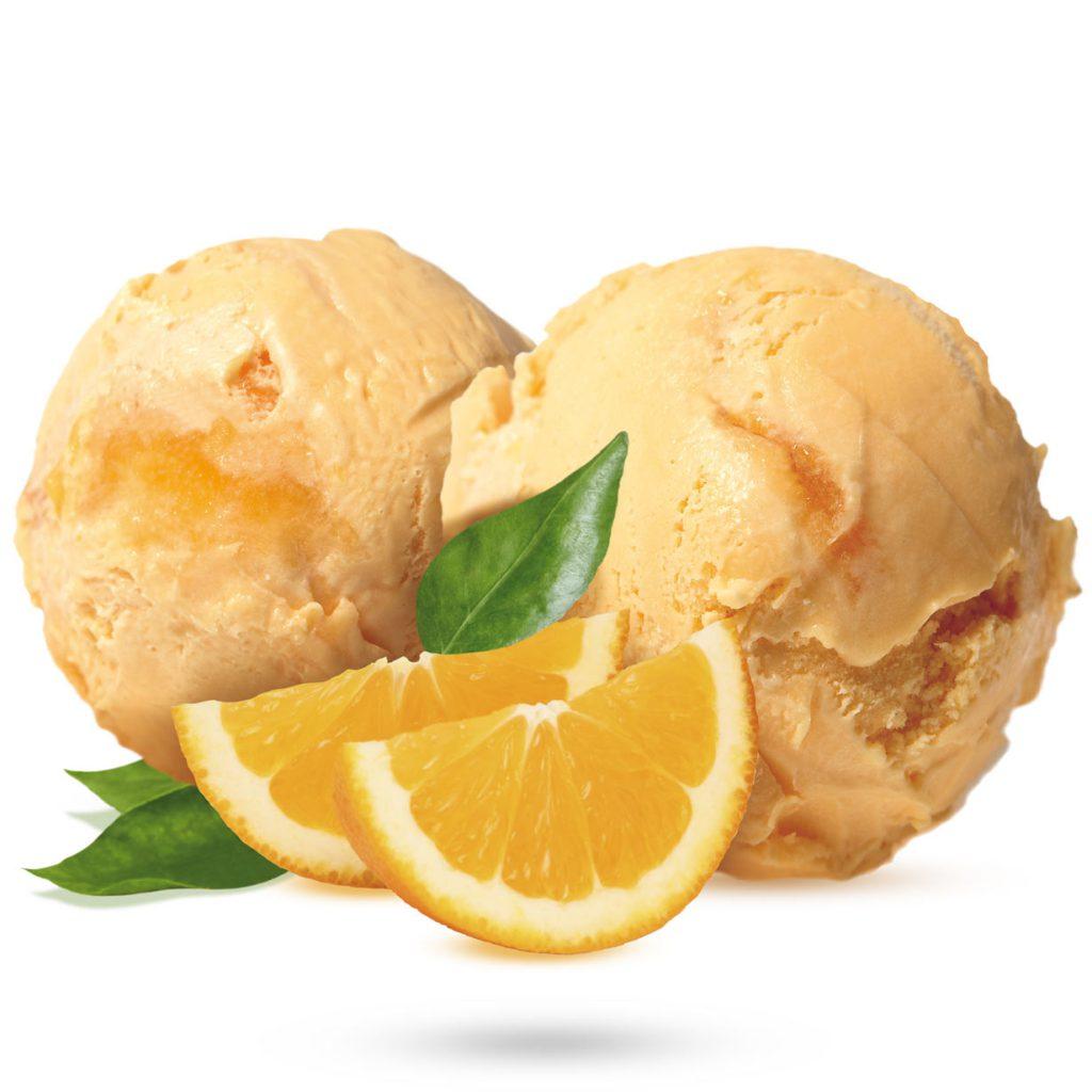Triumf Glass Gräddglass Apelsin