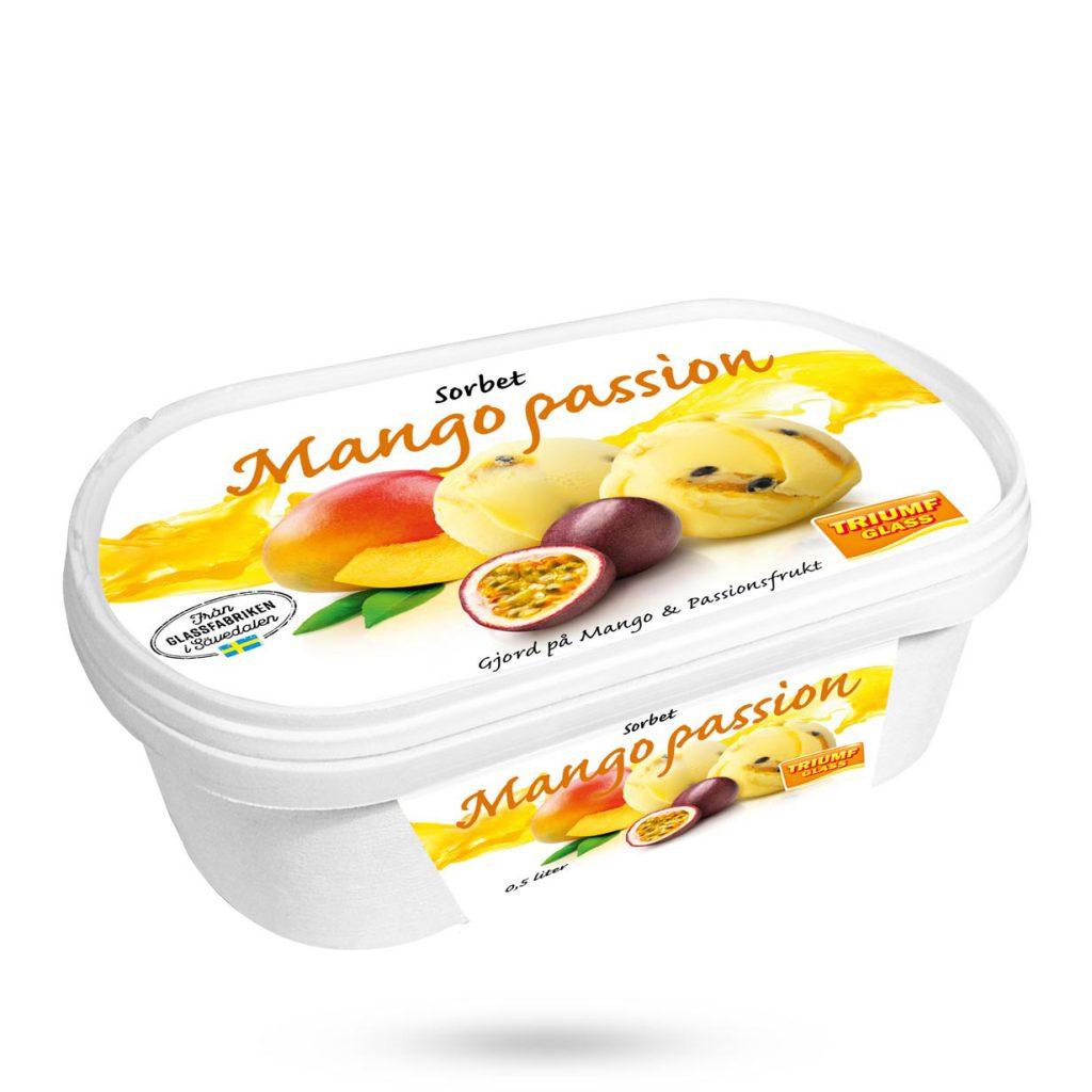 Triumf Glass 0,5 l Mango Passionsfruktsorbet