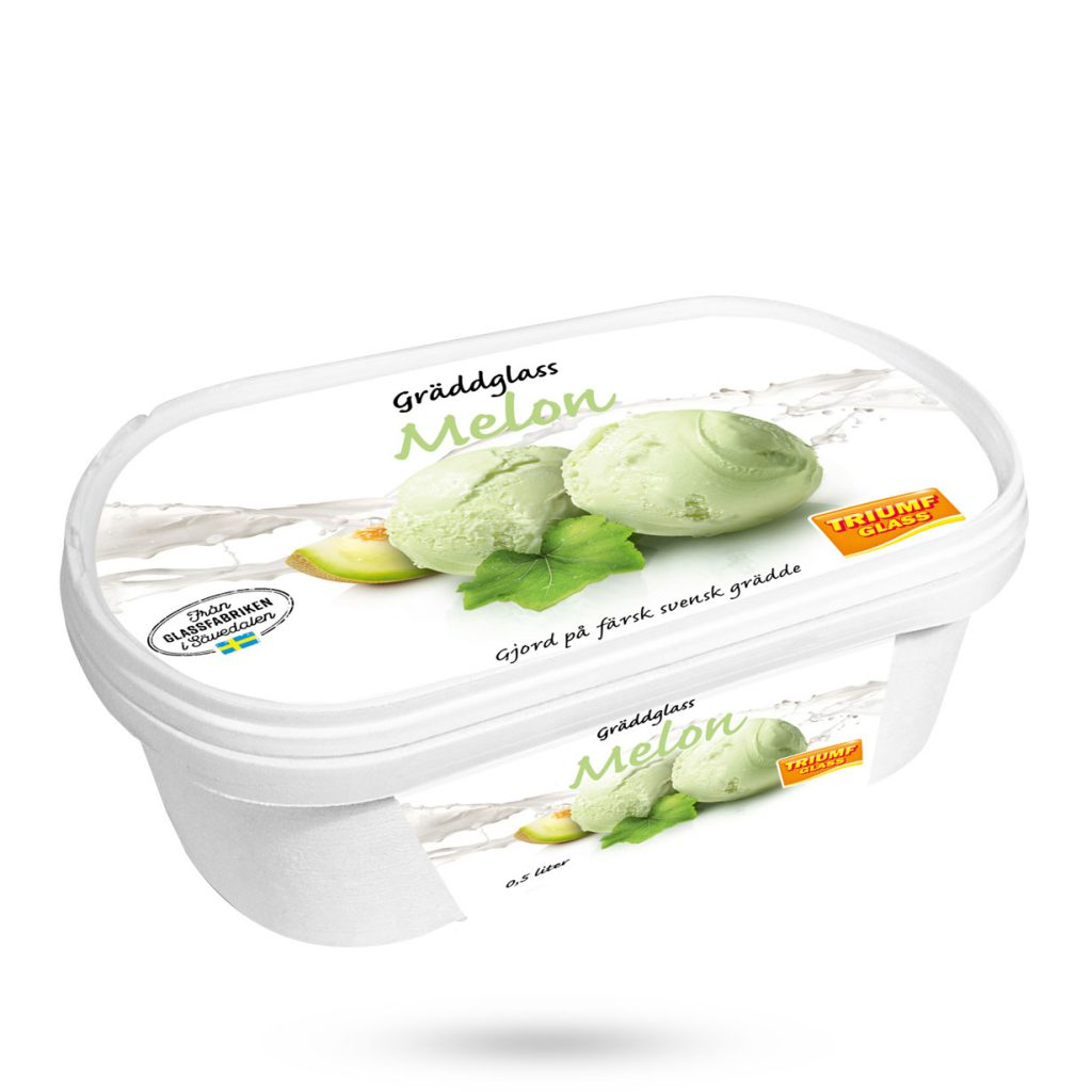 Triumf Glass 0,5 l Melon