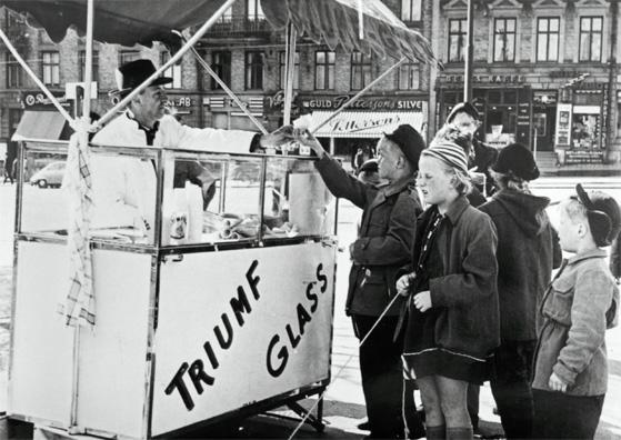 Gustavs glassvagn