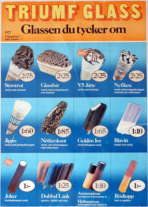 Triumf Glass Pinnar & Strutar 1977