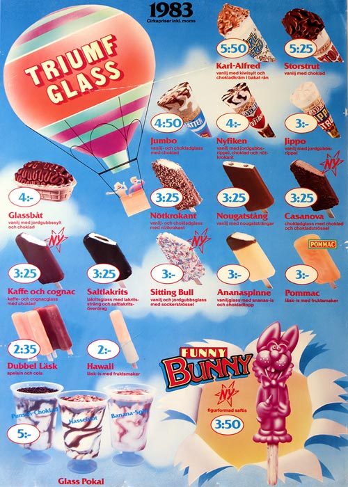 Triumf Glass Pinnar & Strutar 1983