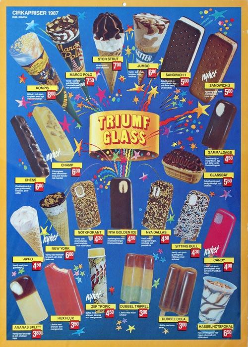 Triumf Glass Pinnar & Strutar 1987