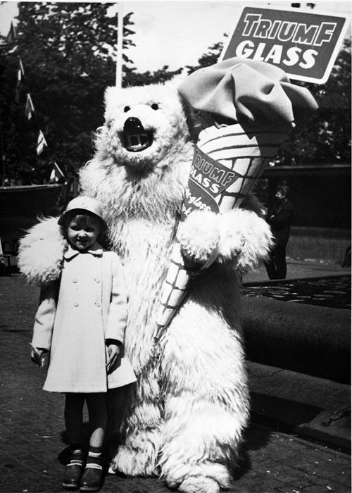 Glasse på Järntorget 1961
