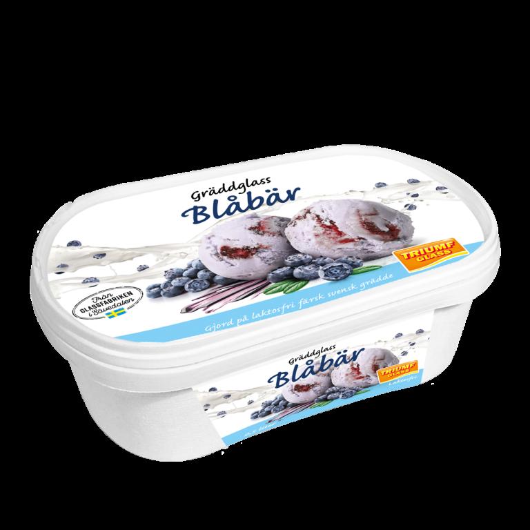 Triumf Glass 0,5 l Blåbär Laktosfri