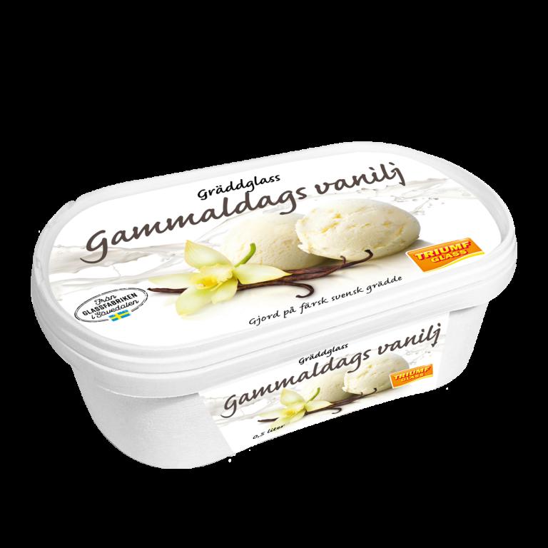 Triumf Glass 0,5 l Gammaldags Vaniljglass