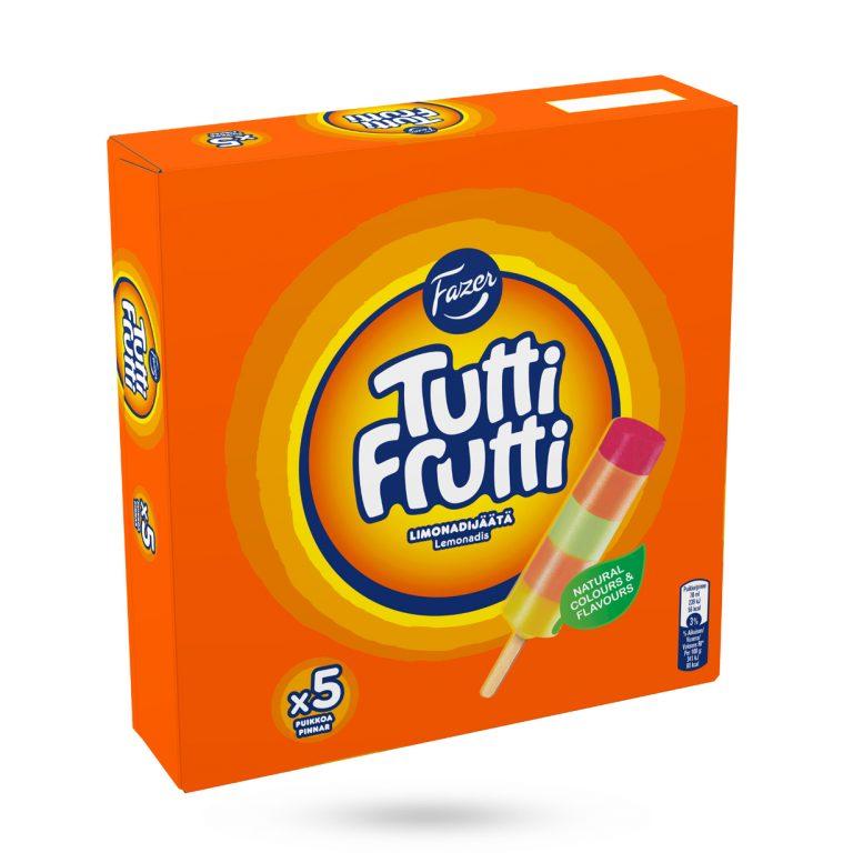 Tutti Frutti isglasspinnar