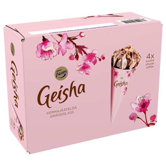 Geisha 4-pack