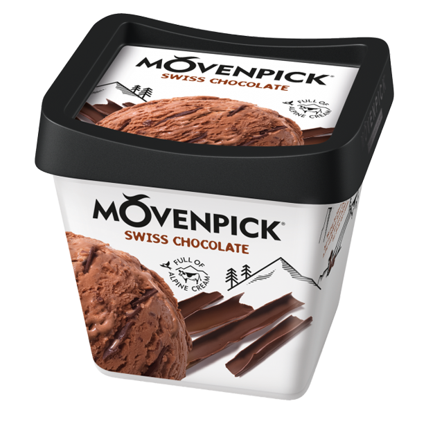 Mövenpick Swiss Chocolate 0,5 L